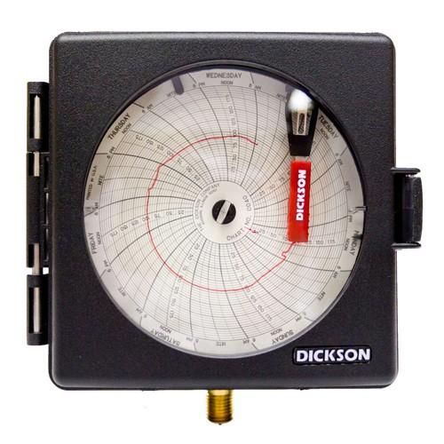 4인치 압력 차트 레코더