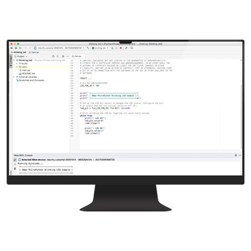 Digi XBee MicroPython PyCharm IDE Plugin