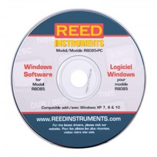R8085(소음 선량계 측정기)PC소프트웨어
