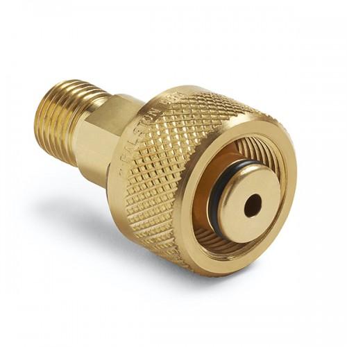 12 mm 튜브 피팅 x (M) 퀵 테스트, no check-valve, 황동
