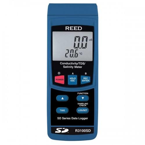 데이터 로깅 전도도/TDS/염도 측정기