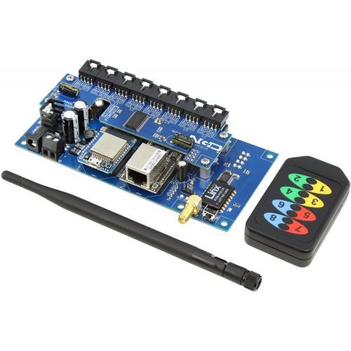 듀얼 직렬-16 포트 I2C를 지원하는 KeyFob I2C 컨버터