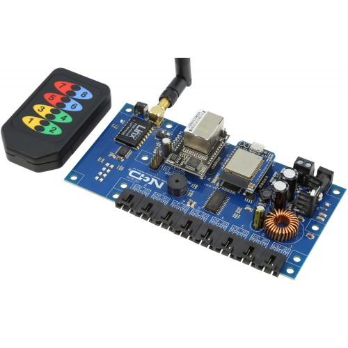 듀얼 직렬-8 포트 I2C의 KeyFob I2C 컨버터