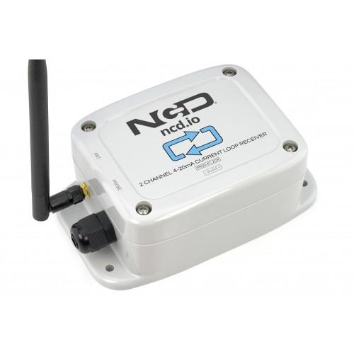 2 채널 산업용 IoT 장거리 무선 4-20mA 전류 수신기